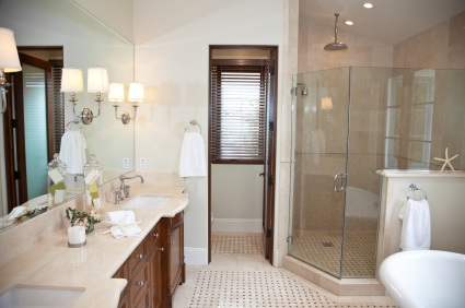 Eldersburg bathroom remodel by Harold Howard's Painting Service