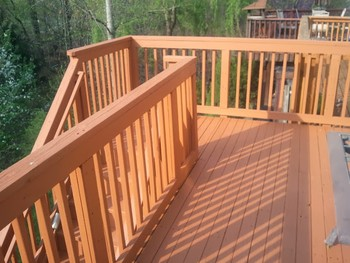 After Deck  Staining Columbia, MD