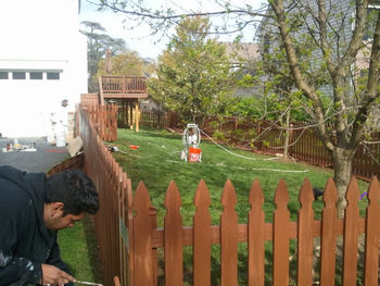 Fence Staining Services Columbia, MD