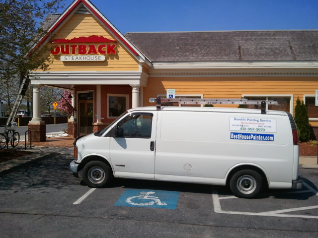 Exterior Painting Service Outback Steakhouse